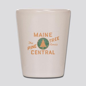Pine Tree Route Shot Glass