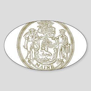 Maine State Seal Sticker