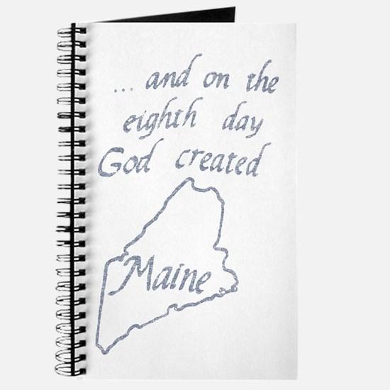 God Created Maine Journal