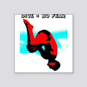 Dive = No Fear Sticker