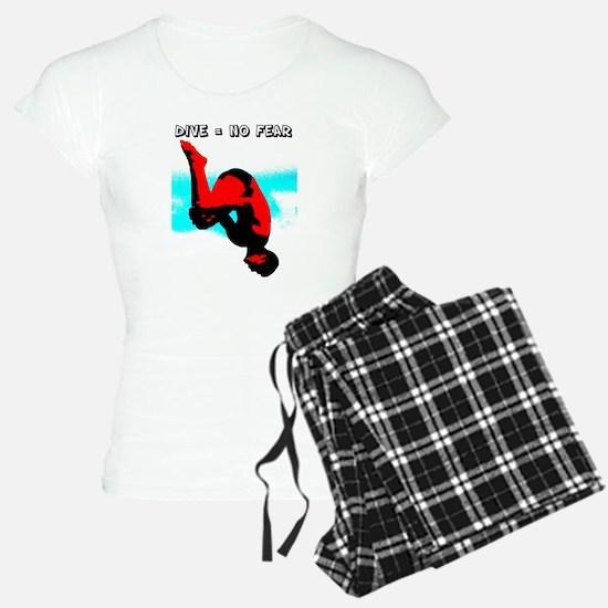 Dive = No Fear Pajamas
