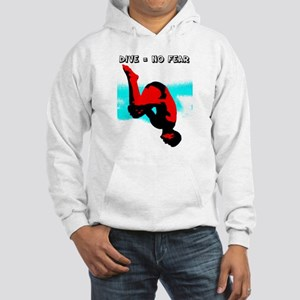 Dive = No Fear Hoodie