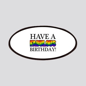 Fabulous Gay Pride Birthday Patches