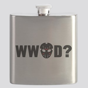 What would Jason Voorhees do? Flask
