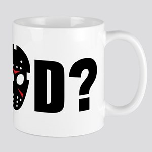 What would Jason Voorhees do? Mug