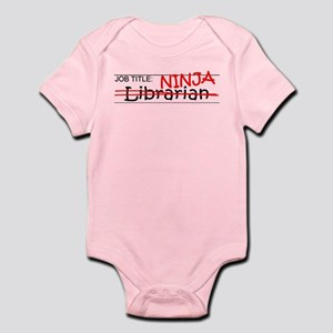 Job Ninja Librarian Infant Bodysuit