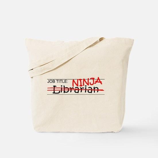 Job Ninja Librarian Tote Bag