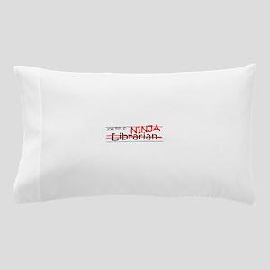 Job Ninja Librarian Pillow Case