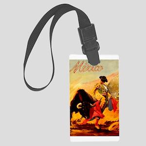 Vintage Mexico Matador Travel Luggage Tag