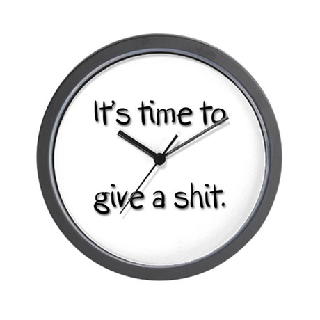 It's Time Wall Clock