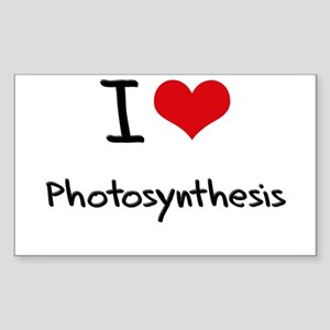 I Love Photosynthesis Sticker
