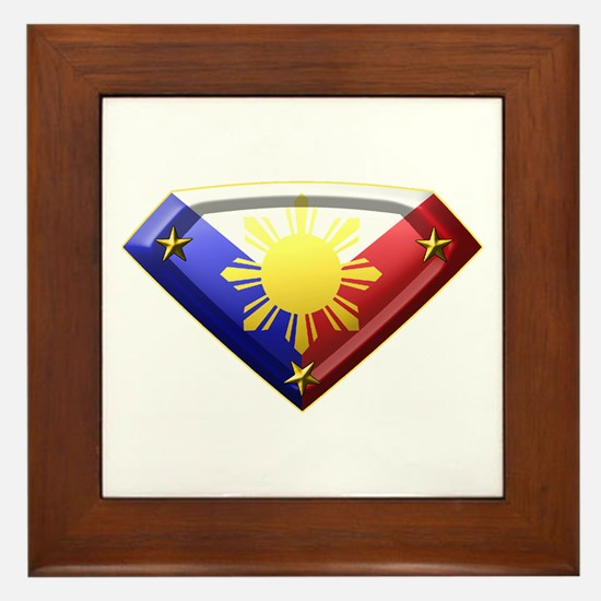 Super Pinoy Framed Tile