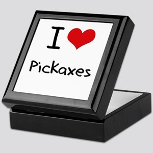 I Love Pickaxes Keepsake Box