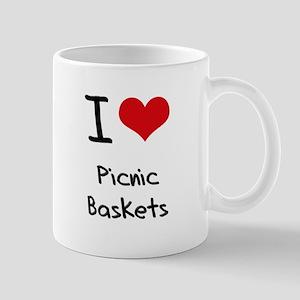 I Love Picnic Baskets Mug