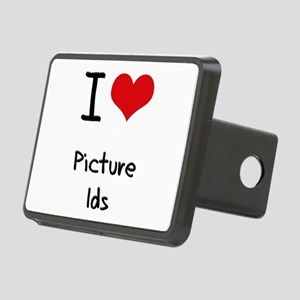 I Love Picture Ids Hitch Cover