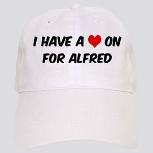 Heart on for Alfred Cap