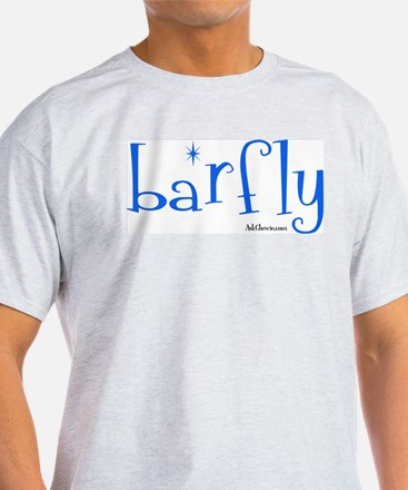 Bar Fly Ash Grey T-Shirt