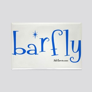 Bar Fly Rectangle Magnet