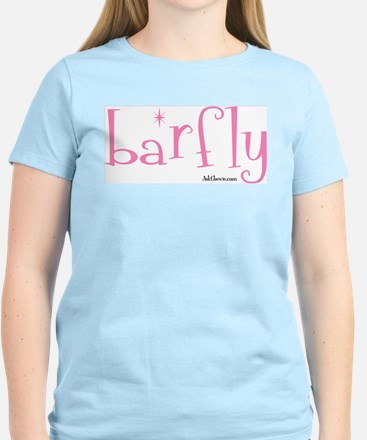 Bar Fly Women's Pink T-Shirt