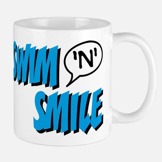 swim and smile Mug