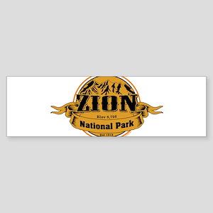 Zion Utah Bumper Sticker