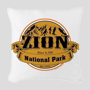 Zion Utah Woven Throw Pillow