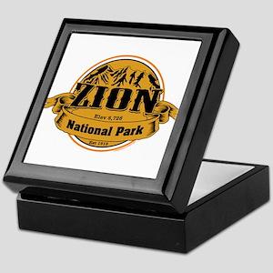 Zion Utah Keepsake Box