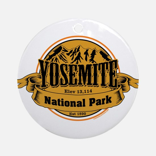 Yosmite California Ornament (Round)