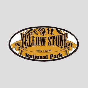Yellow Stone Wyoming Patches
