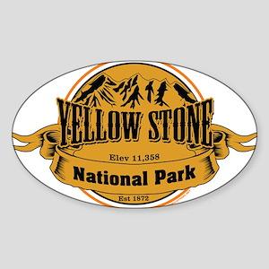 Yellow Stone Wyoming Sticker