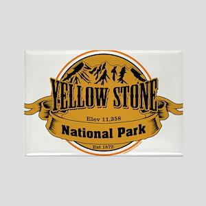 Yellow Stone Wyoming Rectangle Magnet