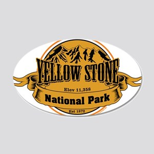 Yellow Stone Wyoming Wall Decal