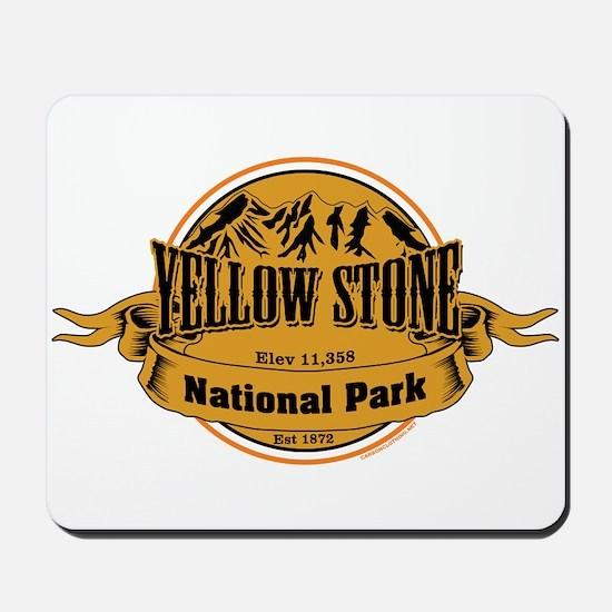 Yellow Stone Wyoming Mousepad