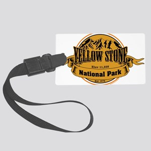 Yellow Stone Wyoming Luggage Tag