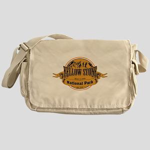 Yellow Stone Wyoming Messenger Bag