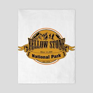 Yellow Stone Wyoming Twin Duvet