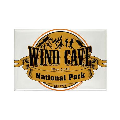 Wind Cave South Dakota Rectangle Magnet