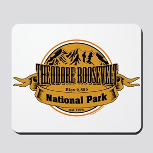 Theodore Roosevelt , North Dakota Mousepad