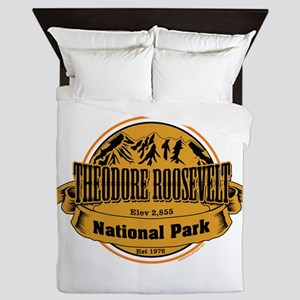 Theodore Roosevelt , North Dakota Queen Duvet