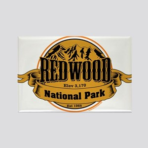 Red Wood, California Rectangle Magnet