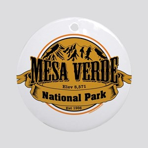 Mesa Verde, Colorado Ornament (Round)