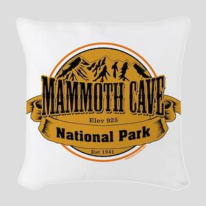Mammoth Cave, Kentucky Woven Throw Pillow