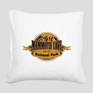 Mammoth Cave, Kentucky Square Canvas Pillow