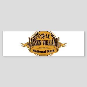 Lassen Volcanic, California Bumper Sticker
