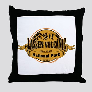 Lassen Volcanic, California Throw Pillow
