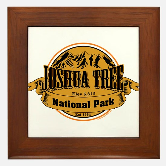 Joshua Tree, California Framed Tile