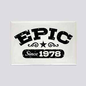 Epic Since 1978 Rectangle Magnet