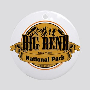 Big Bend, Texas Ornament (Round)