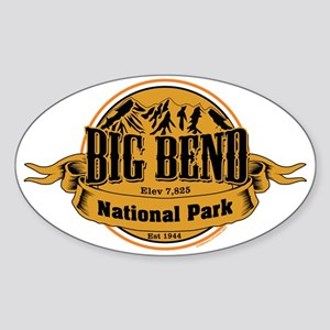 Big Bend, Texas Sticker