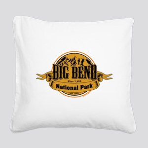 Big Bend, Texas Square Canvas Pillow